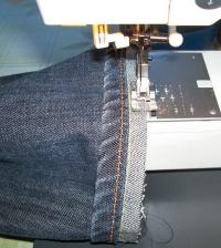 Jeans Shortening